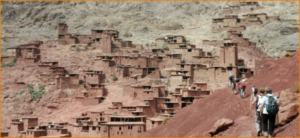 3 days Berber villages trekking