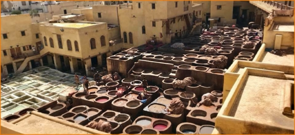Guided excursion in medina of Fes